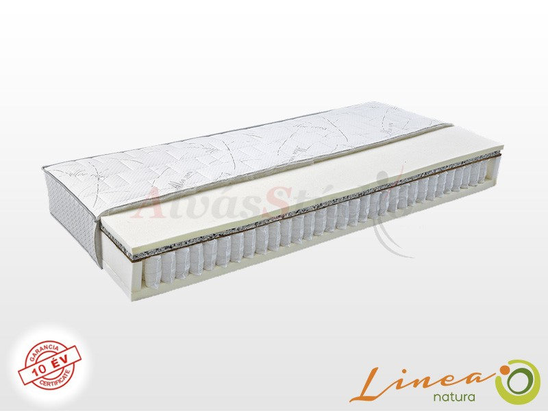 Lineanatura Admiral-M zsákrugós matrac 90x220 cm Standard fix huzattal