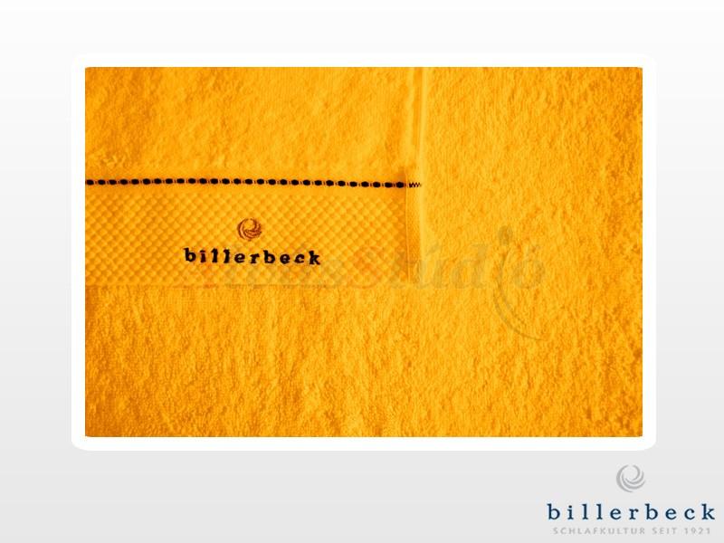 Billerbeck pamut törölköző sáfrány sárga 70x140 cm