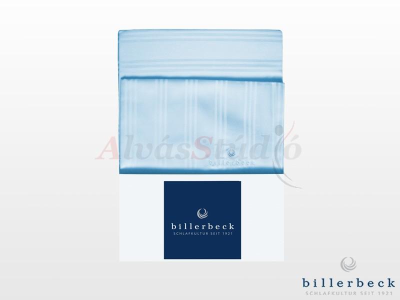 Billerbeck Réka 3 részes pamut-szatén ágynemű kék 140x200 cm - 70x90 cm - 36x48 cm