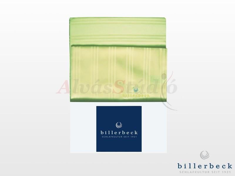 Billerbeck Réka 3 részes pamut-szatén ágynemű zöld 140x200 cm - 70x90 cm - 36x48 cm