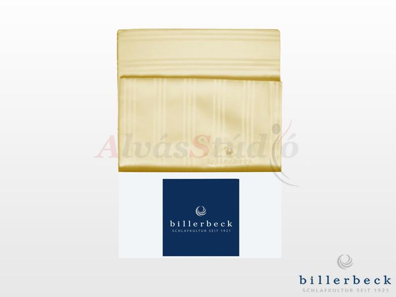 Billerbeck Réka 3 részes pamut-szatén ágynemű sárga 140x200 cm - 70x90 cm - 36x48 cm