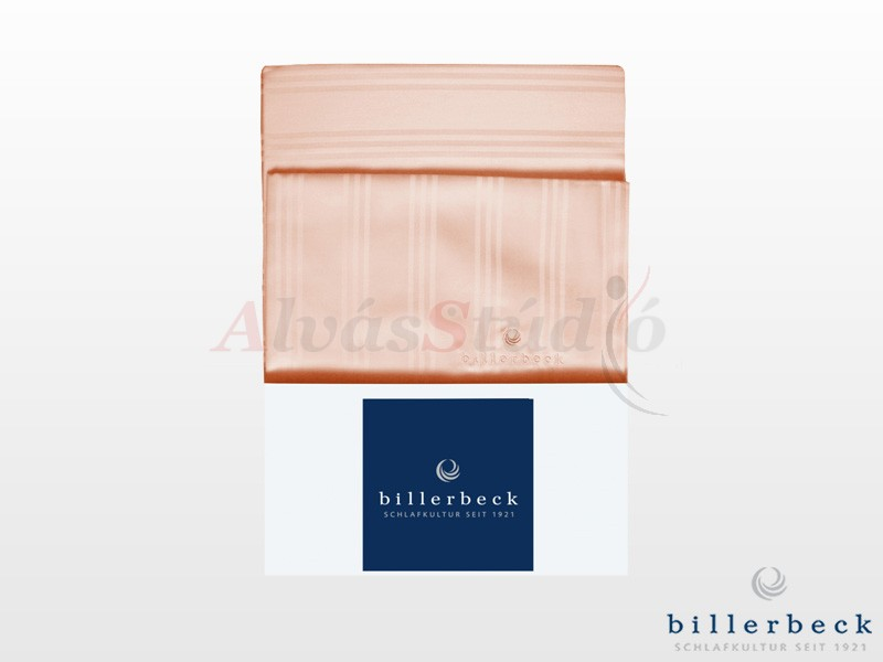 Billerbeck Réka 5 részes pamut-szatén ágynemű barack 200x220 cm - 2db 70x90 cm - 2db 36x48 cm