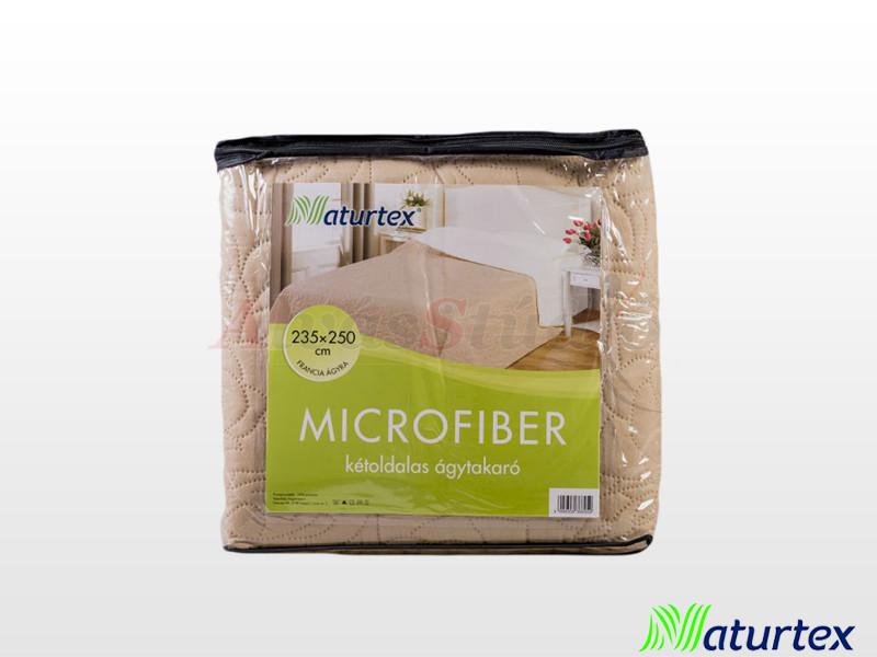 Naturtex Emily microfiber ágytakaró bézs-cream 235x250 cm