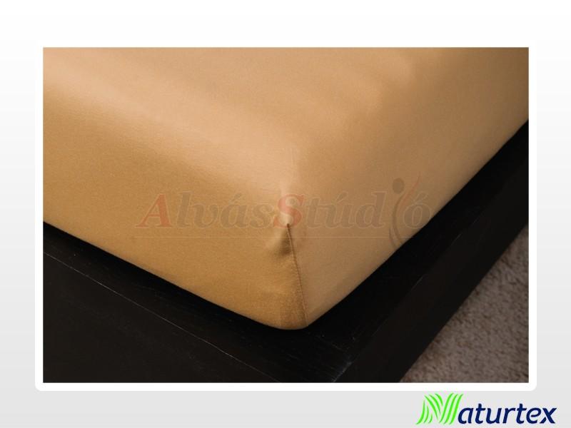 Naturtex Jersey gumis lepedő Bronz 90-100x200 cm