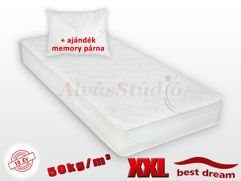 Best Dream Siglo 50 hideghab matrac 120x210 cm AJÁNDÉK MEMORY PÁRNÁVAL