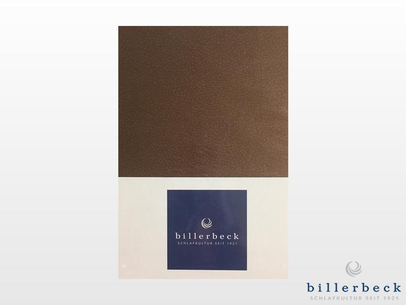 Billerbeck Bianka 3 részes pamut-szatén ágynemű barna 140x200 cm - 70x90 cm - 36x48 cm