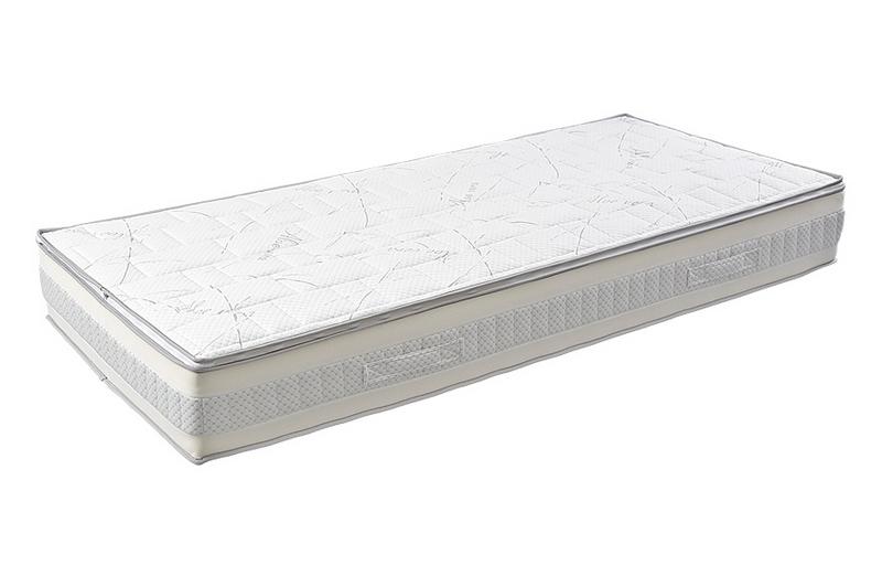 Bio-Textima Lineanatura Admiral-L zsákrugós matrac 180x210 cm Zippzárolható (PillowTop) huzattal