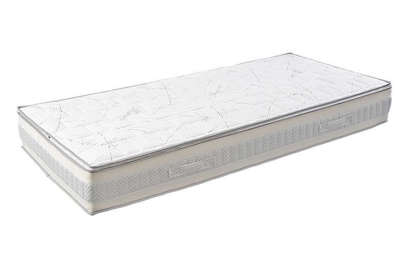 Lineanatura Admiral-L zsákrugós matrac 190x190 cm Zippzárolható (PillowTop) huzattal