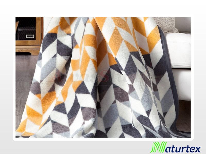Naturtex Pamut-akril Rhombus mintás pléd 150x200 cm