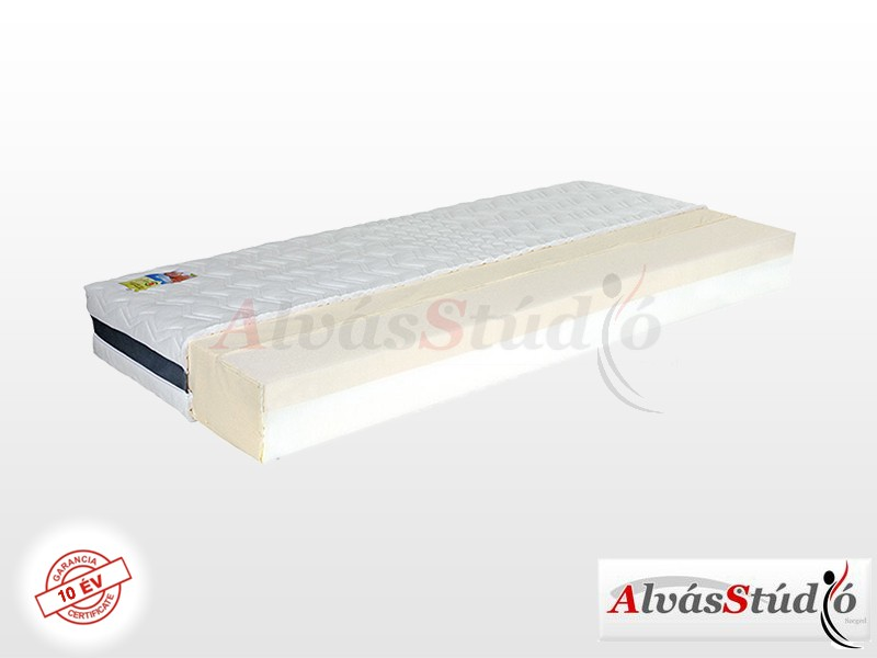AlvásStúdió Memofit Seven memory matrac 200x200 cm ALOE-3D-4Z huzattal