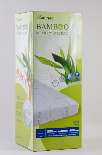 Naturtex Bamboo Memory matrac 160x200 cm