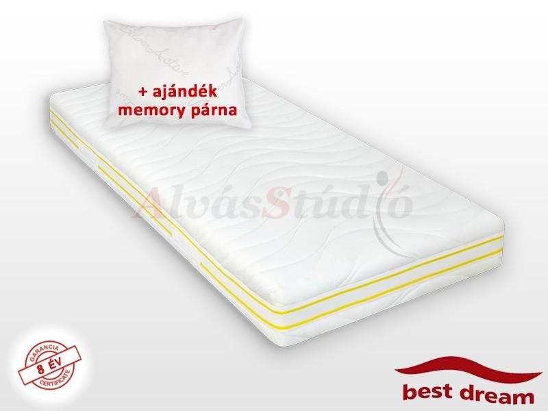 Best Dream Latex matrac 150x220 cm AJÁNDÉK MEMORY PÁRNÁVAL