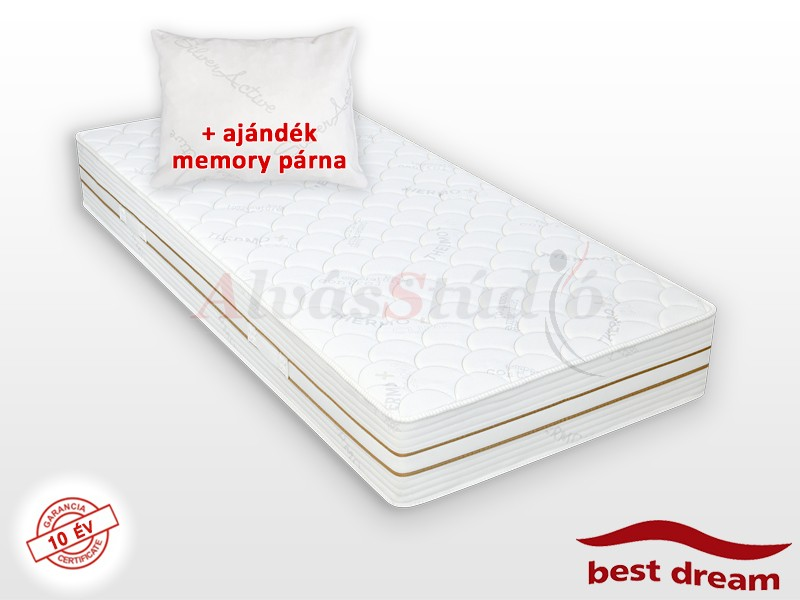 Best Dream Thermoclima hideghab matrac 140x210 cm AJÁNDÉK MEMORY PÁRNÁVAL