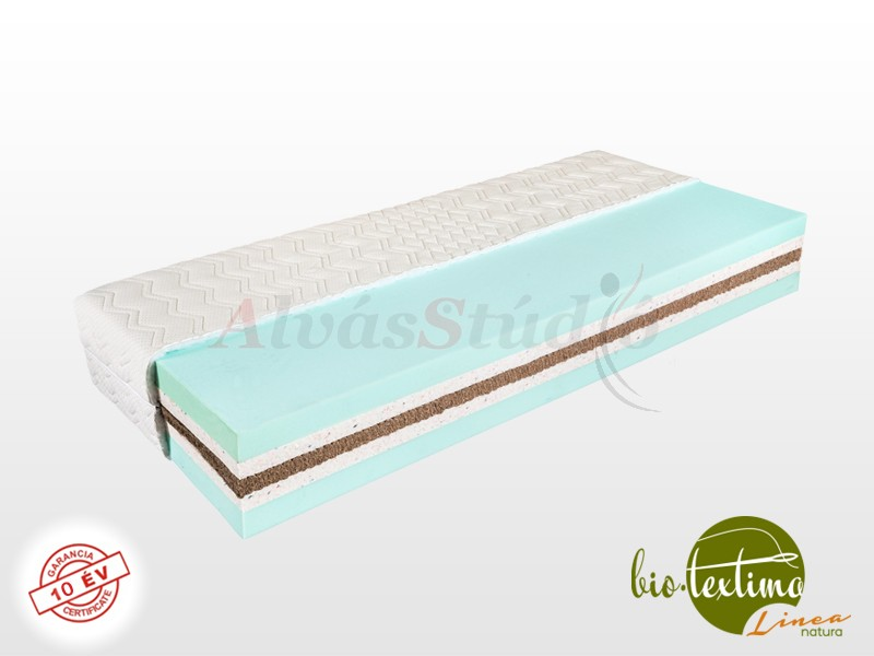 Bio-Textima Lineanatura Sirius Big hideghab matrac 190x190 cm SILVER huzattal